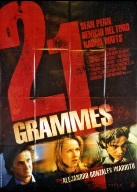 21 GRAMS / TWENTY ONE GRAMS movie poster