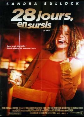 28 DAYS / TWENTY EIGHT DAYS movie poster