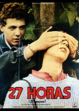 27 HORAS movie poster