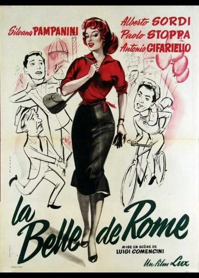 affiche du film BELLE DE ROME (LA)