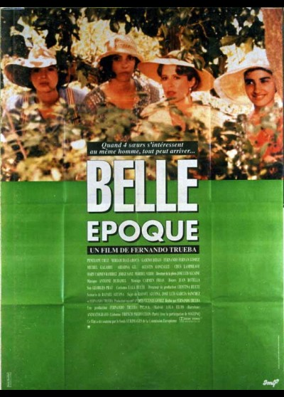 affiche du film BELLE EPOQUE