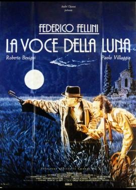 VOCE DELLA LUNA (LA) movie poster