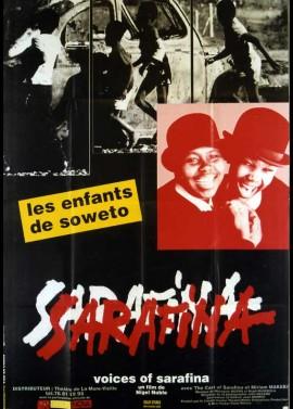 affiche du film VOICES OF SARAFINA LES ENFANTS DE SOWETO