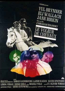 affiche du film VOLEUR DE CHEVAUX (LE)