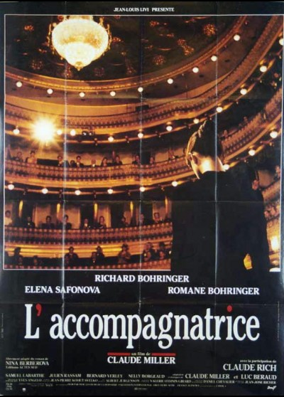 ACCOMPAGNATRICE (L') movie poster