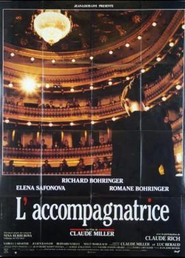 affiche du film ACCOMPAGNATRICE (L')