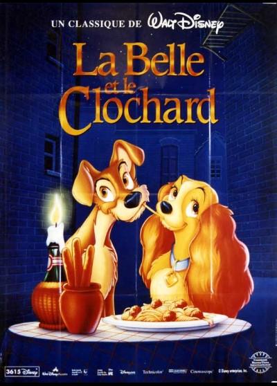 affiche du film BELLE ET LE CLOCHARD (LA)