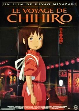 affiche du film VOYAGE DE CHIHIRO (LE)