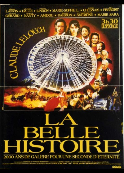 affiche du film BELLE HISTOIRE (LA)