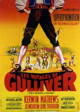3 WORLDS OF GULLIVER (THE) movie poster