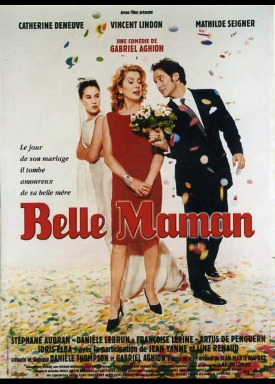 BELLE MAMAN movie poster