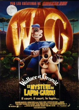 WALLACE AND GROMIT IN THE CURSE OF THE WERE RABBIT movie poster