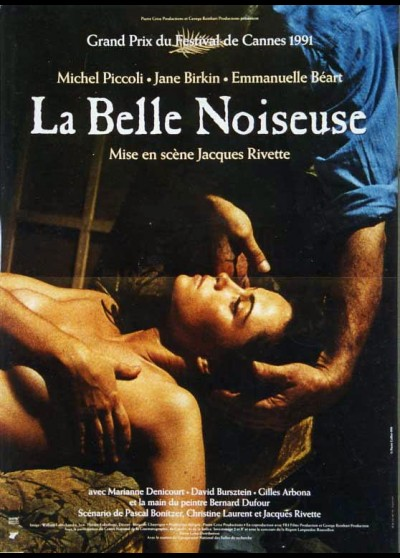 BELLE NOISEUSE (LA) movie poster