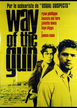 WAY OF THE GUN (THE) movie poster