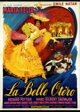 BELLE OTERO (LA) movie poster