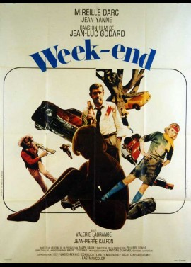 affiche du film WEEK END