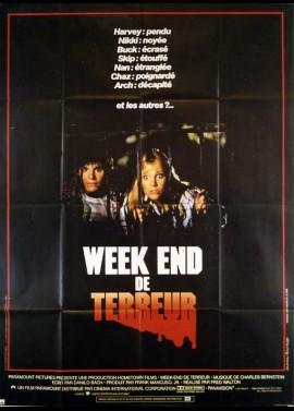 affiche du film WEEK END DE TERREUR