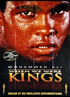 affiche du film WHEN WE WERE KINGS