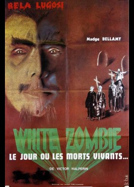 WHITE ZOMBIE movie poster