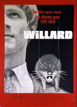 WILLARD movie poster