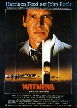affiche du film WITNESS