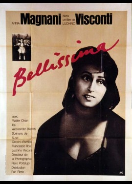 BELLISSIMA movie poster