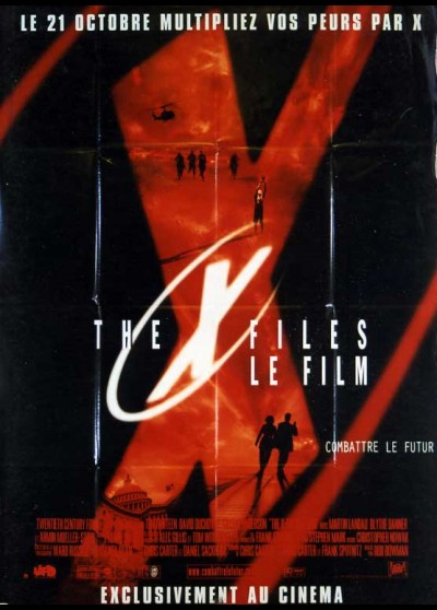 X FILES (THE) movie poster