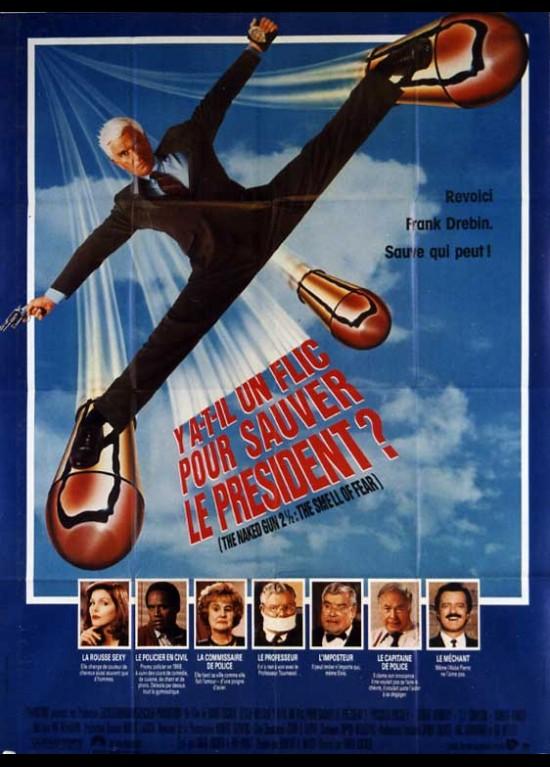 Affiche de cinéma 120 x 160 du film Y A-T-IL UN FLIC POUR