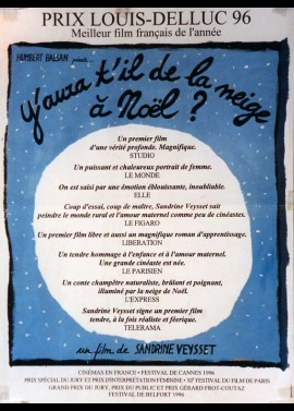 Y AURA T'IL DE LA NEIGE A NOEL movie poster