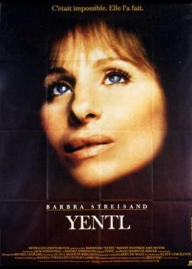 YENTL movie poster
