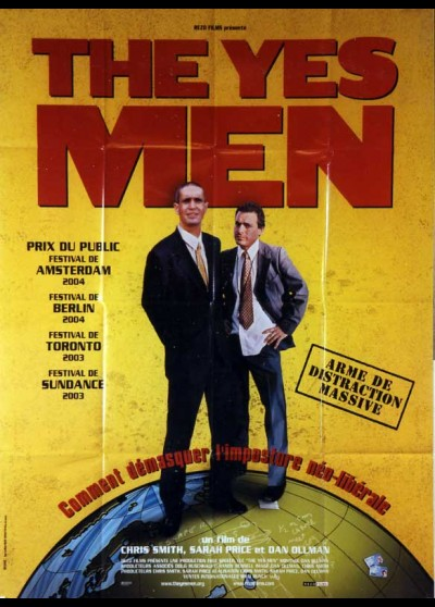 YES MEN (THE) movie poster
