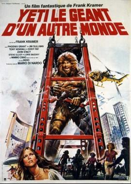 YETI IL GIGANTE DEL 20. SECOLO / BIG FOOT movie poster