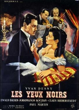 affiche du film YEUX NOIRS (LES)