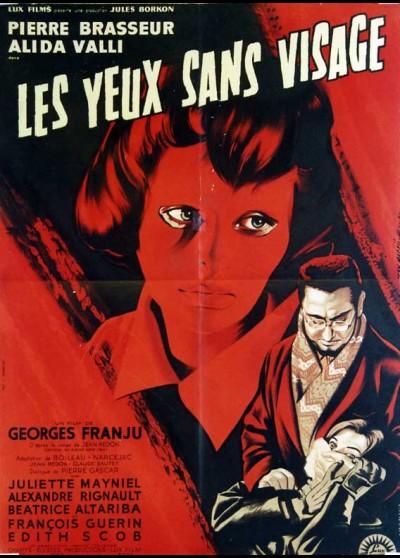 YEUX SANS VISAGE (LES) movie poster