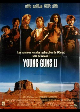 YOUNG GUNS 2 movie poster