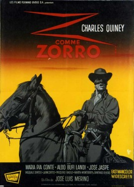 ZORRO DE MONTERREY (EL) / ZORRO THE DOMINATOR movie poster