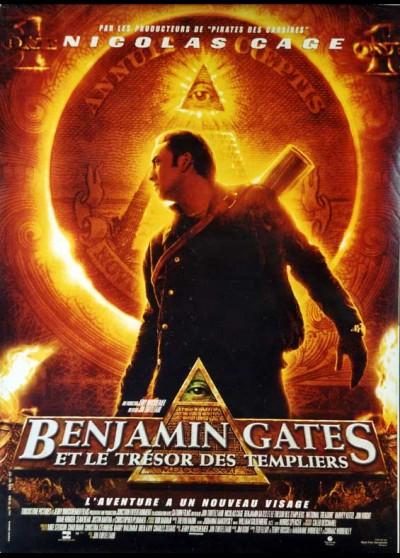 affiche du film BENJAMIN GATES ET LE TRESOR DES TEMPLIERS