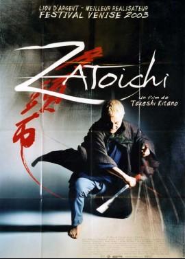 affiche du film ZATOICHI