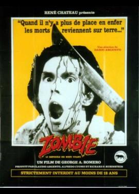 affiche du film ZOMBIE LE CREPUSCULE DES MORTS VIVANTS