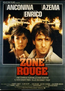 affiche du film ZONE ROUGE