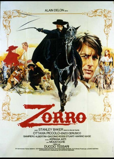 ZORRO movie poster