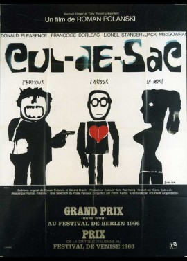 CUL DE SAC movie poster