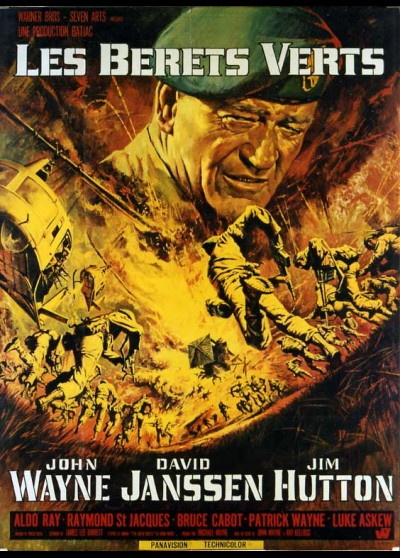 GREEN BERETS (THE) movie poster
