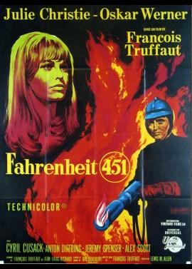 affiche du film FAHRENHEIT 451