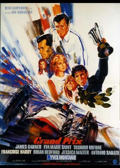 GRAND PRIX movie poster