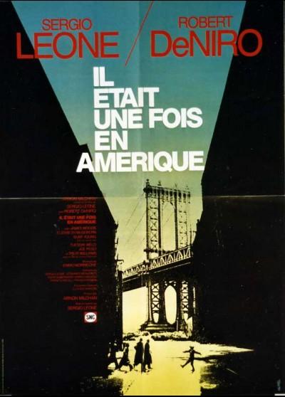 affiche du film IL ETAIT UNE FOIS EN AMERIQUE