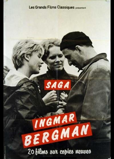 BERGMAN INGMAR SAGA movie poster