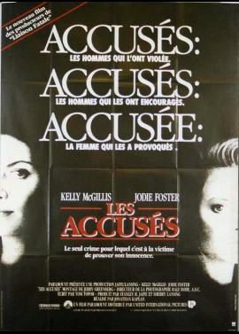 ACCUSED (THE) movie poster