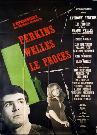 affiche du film PROCES (LE)