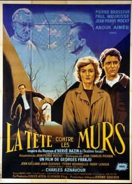 TETE CONTRE LES MURS (LA) movie poster